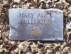 Mary Alice <I>Rucker</I> Fullerton