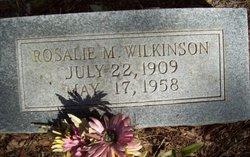 Rosalie M. Wilkinson
