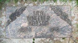 Lila <I>Wheeler</I> Hobson