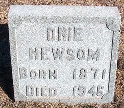 """Elizabeth G. """"Onie"""" <I>Anderson</I> Newsom"""