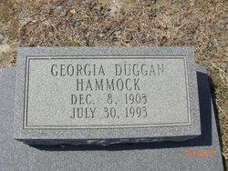 Georgia Bigham <I>Duggan</I> Hammock