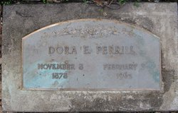 Dora E <I>Simmons</I> Perrill