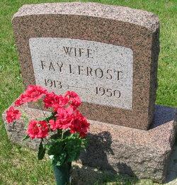 Fay Irene <I>Tewell</I> Frost