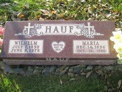 """Wilhelm """"William"""" Hauf"""