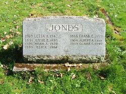 "Rev Francis Eugene ""Frank"" Jones"