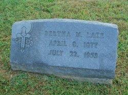 Bertha M. <I>Lerch</I> Lake