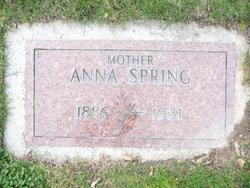Anna Spring