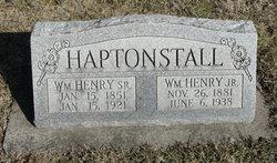 William Henry Haptonstall, Jr