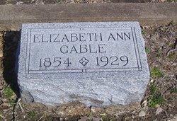 """Elizabeth Ann """"Bettie"""" <I>Milford</I> Gable"""