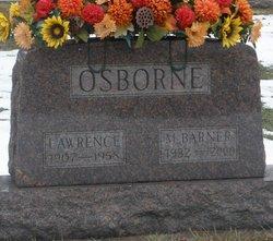 M <I>Barner</I> Osborne