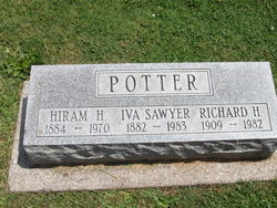 Iva <I>Sawyer</I> Potter