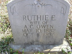 "Rutha Evelyn ""Ruthie"" <I>Williams</I> Owen"