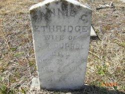 Fannie C. <I>Ethridge</I> DuPree