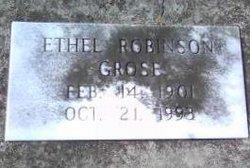 Ethel <I>Robinson</I> Grose