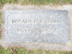 Rosalind E. Hart