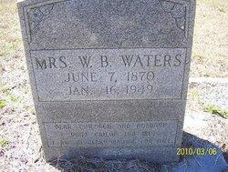 Mrs W. B. Waters