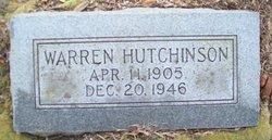 Warren Hutchinson