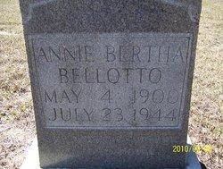 Annie Bertha Bellotto