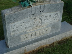 Mary Ann <I>Toney</I> Atchley