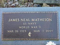 James Neal Matheson