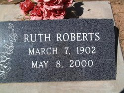Ruth A <I>Daughdrill</I> Roberts