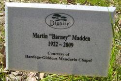 "Martin ""Barney"" Madden"