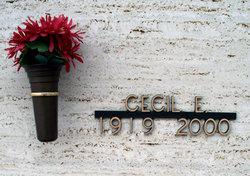 Cecil E Turner