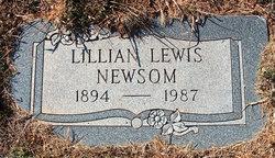Lillian <I>Lewis</I> Newsom