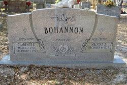 """Clarence E """"Bo"""" Bohannon"""