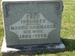 Maggie <I>Hammaker</I> Berkheimer
