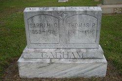 Sarrah C <I>Laster</I> Barham