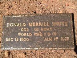 Donald Merrill Shute