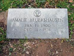 Amalie <I>Seeliger</I> Beuershausen