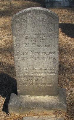 Eliza <I>Wilson</I> Thornton