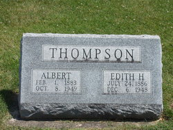 Edith Helen <I>Park</I> Thompson