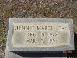 Jennie <I>Martin</I> Day