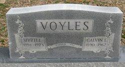 Myrtle <I>Thacker</I> Voyles