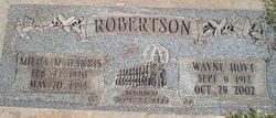 Wayne Hoyt Robertson