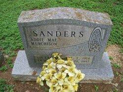 Addie Mae <I>Murchison</I> Sanders