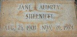 Jane Audrey Shelnutt