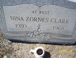 Nina <I>Zornes</I> Clark