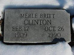 Merle Britt Clinton
