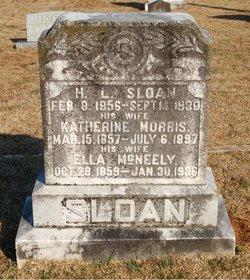 Harriet Ella <I>McNeely</I> Sloan