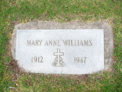 Mary Anne Williams