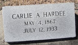 Carlie A Hardee