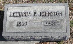 Bethania E. Johnston