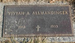 Vivian Alice <I>Hickman</I> Allmandinger