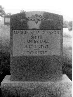 Maggie Etta <I>Gleason</I> Smith