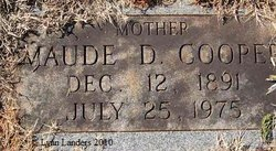 Maude Jane <I>DeBorde</I> Cooper