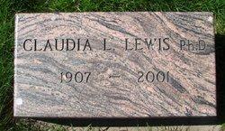 Claudia Louise Lewis